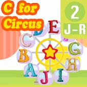Kids Learn ABC flash card J-R