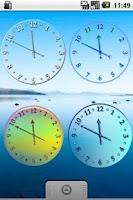 Screenshot of Air Clock Collection