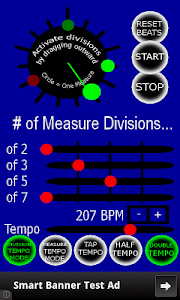 Advanced Metronome screenshot 0