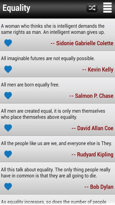 Famous Quotes & Quotations - screenshot