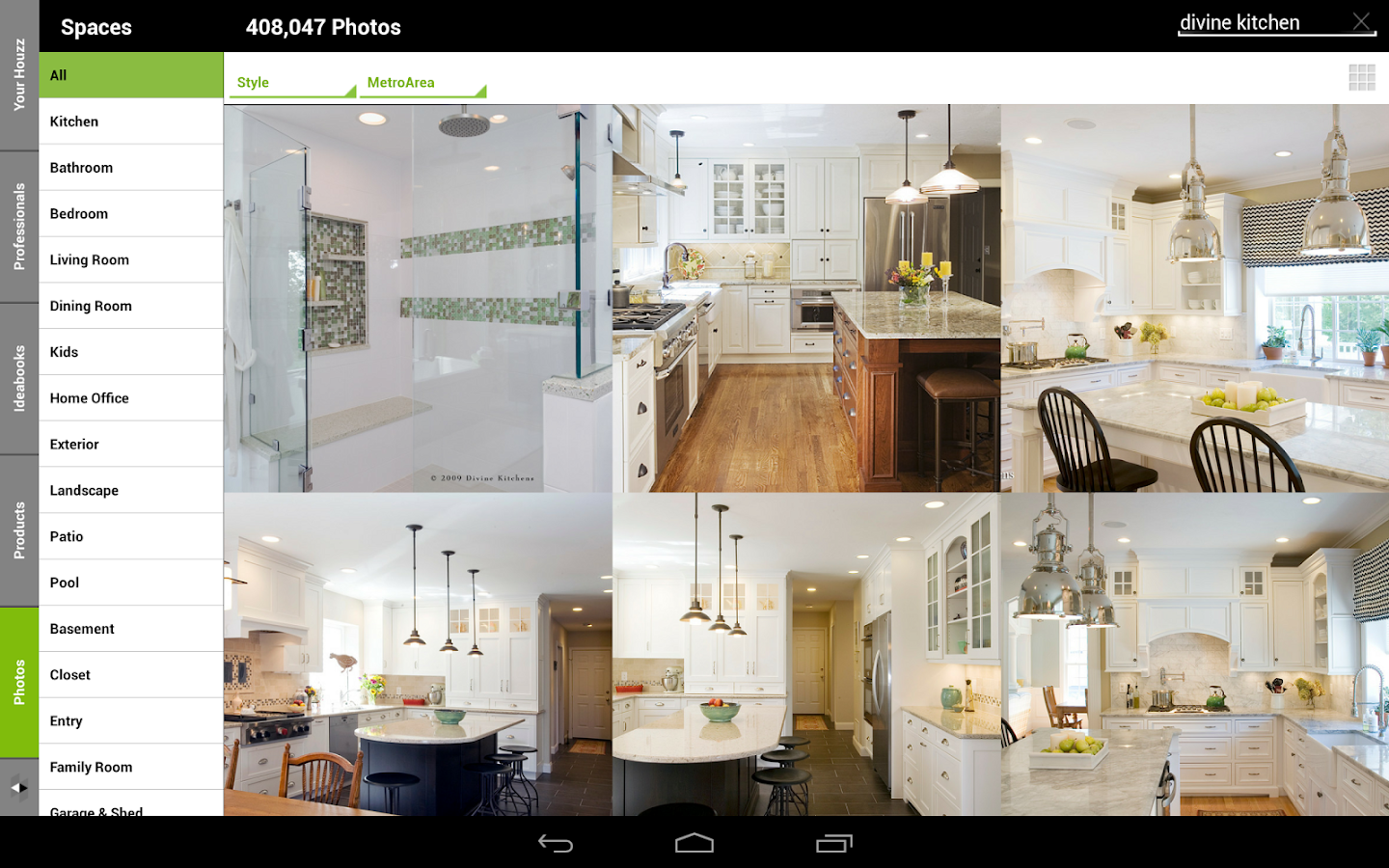 houzz interior design ideas android apps on google play. Black Bedroom Furniture Sets. Home Design Ideas