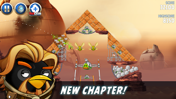 Screenshot of Angry Birds Star Wars II Free