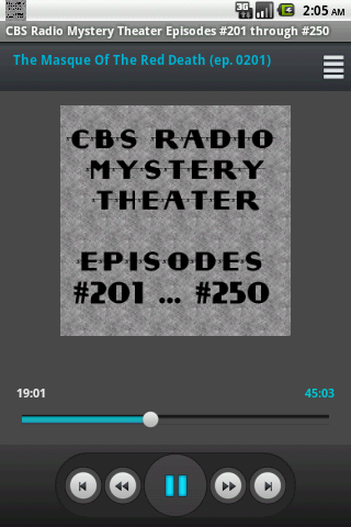 CBS Radio Mystery Theater V.05