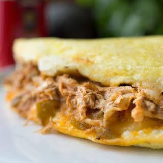 Chicken Enchilada Omelet.