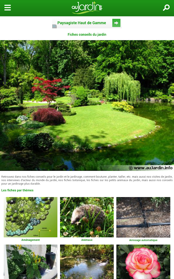 Au jardin android apps on google play for Google jardin