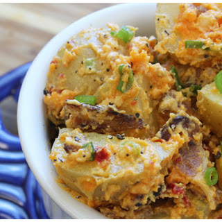 Cheesy Bacon Potato Salad Print