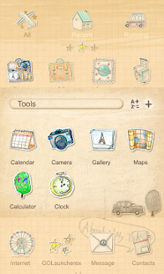 Parisien - GO Launcher Theme- screenshot thumbnail