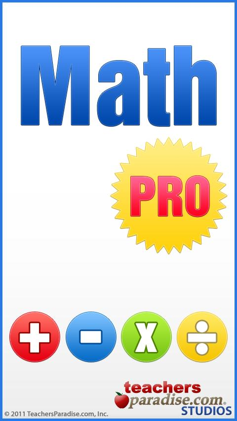 Math PRO - Math Game for Kids- screenshot