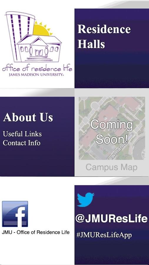 JMU Res Life- screenshot