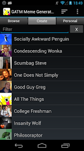 GATM Meme Generator Screenshot