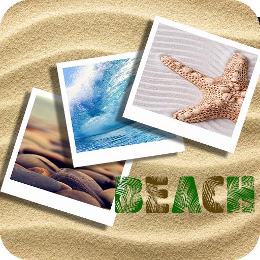 海滩壁纸 個人化 LOGO-玩APPs