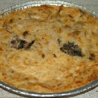 Gerookte Makreel Met Sardines Quiche.