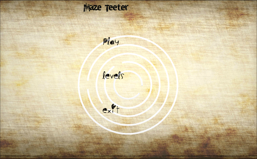 Maze Teeter - screenshot thumbnail