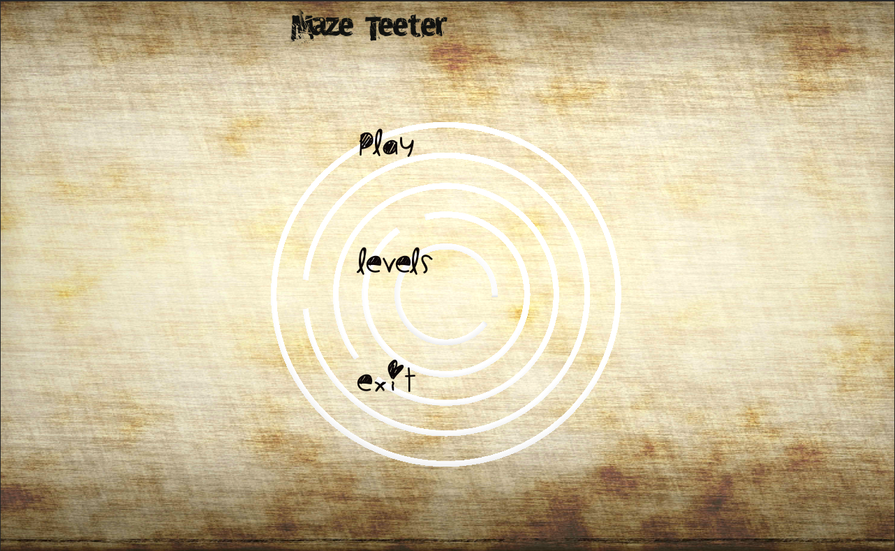 Maze Teeter - screenshot