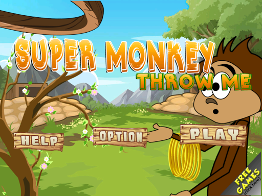 Super Monkey Throw Me Crazy