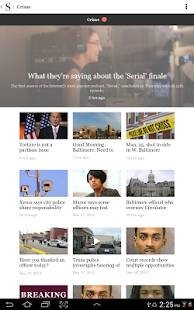 Baltimore Sun - screenshot thumbnail