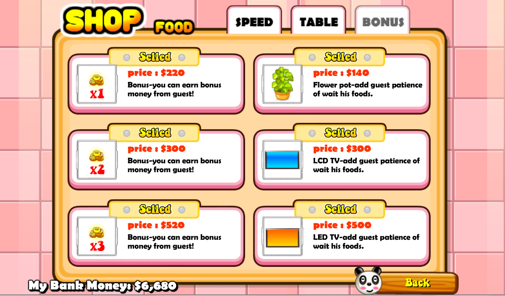Panda Restaurant - screenshot