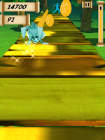 Screenshot of Bunny's Quest (Easter game)
