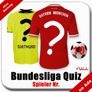 Fußball Quiz: Bundesliga