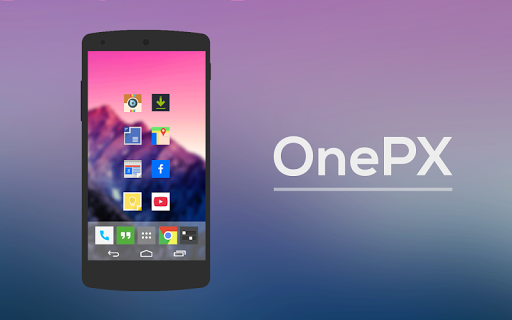 OnePX - Icon Pack