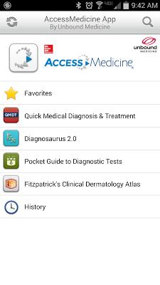 AccessMedicine App - screenshot