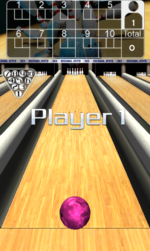 3D Bowling - screenshot