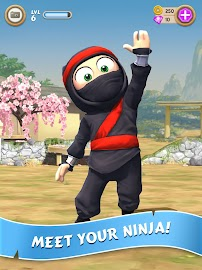 Clumsy Ninja Screenshot 1