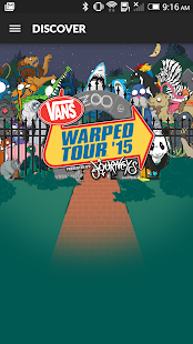 Vans Warped Tour Official App - screenshot thumbnail