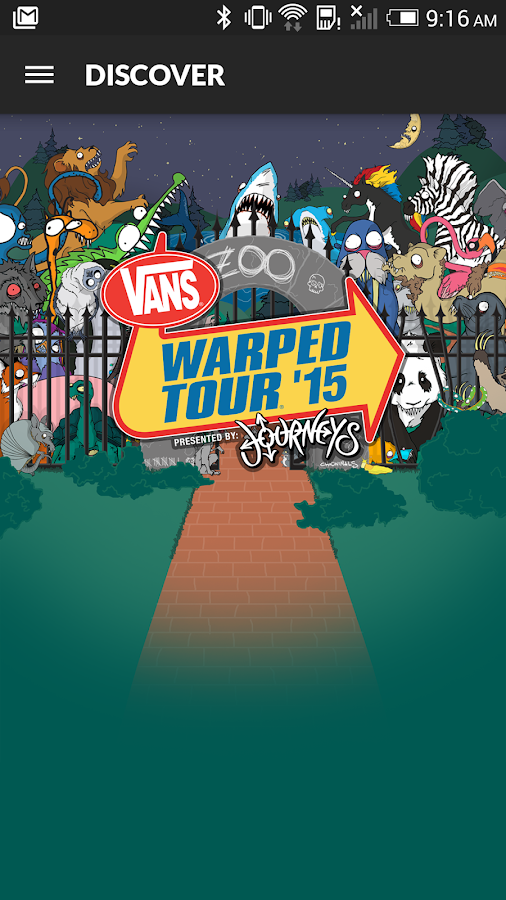 Vans Warped Tour Official App - screenshot