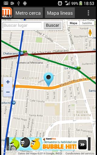 Lineas del Metro DF CDMX  screenshots 1