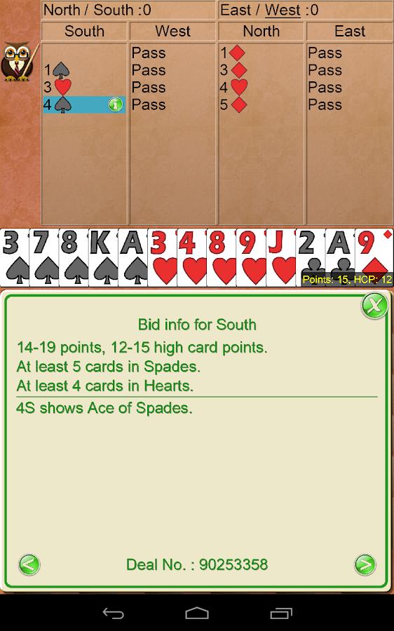 Omar Sharif Bridge V+ - screenshot