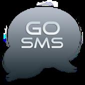 Go SMS Pro Theme Elegant Grey