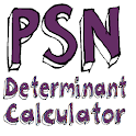 PSN Determinant Calculator icon