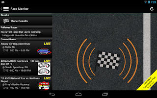 Screenshot of Race Monitor