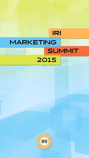 IRI Marketing Summit 2015