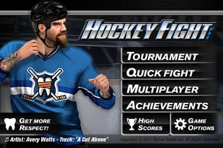 Hockey Fight Lite 1.67 screenshot 99328