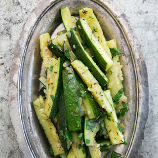 Zucchini with Thyme.