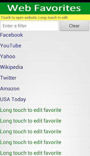 【免費工具App】Web Favorites-APP點子