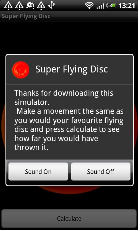 Super Flying Disc - screenshot
