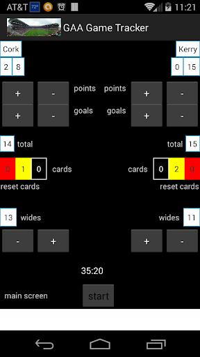 Gaelic Games Tracker
