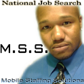 Mobile Staffing Solutions logo