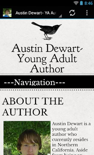 Austin Dewart- YA Author