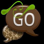 GO SMS - Coco Swirl