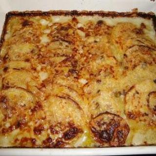 Kartoffelgratin mit Gorgonzola