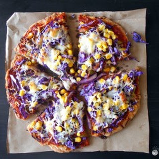 Red Cabbage Pizza