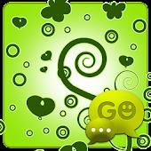 GO SMS Pro Pastel Green Theme