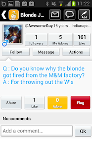 Blonde Jokes - screenshot thumbnail