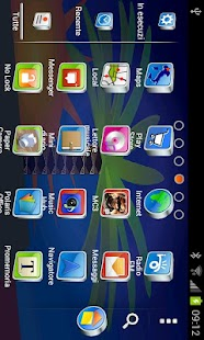 DREAM theme GO Launcher EX- screenshot thumbnail
