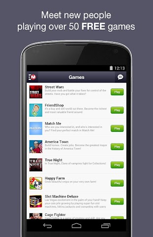 android Moco - Chat,  Meet People Screenshot 7