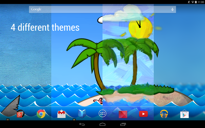Paper Ocean Live Wallpaper- screenshot